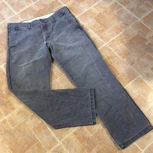 Haggar LK cotton straight leg pants size men 34/32